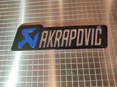 Akrapovic Motorbike / Motorcycle Heatproof Exhaust Sticker / Decal • 3.20£