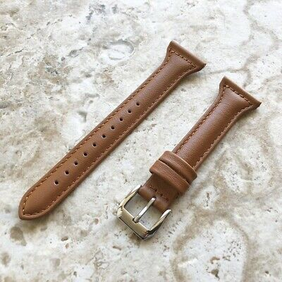 $ CDN31.66 • Buy Brown Color Slim Elegant Soft Leather Band Strap For Fitbit Versa 3 And Sense