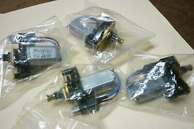 £8.72 • Buy Four Pieces Ff-180sh Small Electric Dc Motor Kw 28/99 W/speed/gear Reducer New