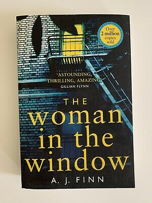 AU15 • Buy The Woman In The Window By A.J. Finn CRIME FICTION