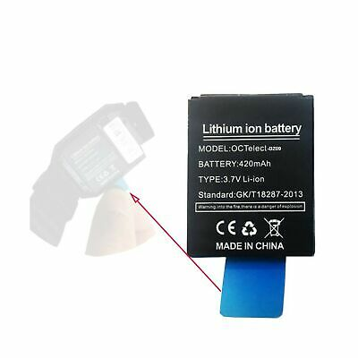$ CDN16.48 • Buy Smart Watch Battery LQ-S1 Rechargable Lithium Battery With 420MAH Capacity As...