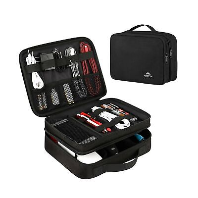 AU27.54 • Buy Matein Electronics Travel Organizer, Waterproof Electronic Accessories Case P...