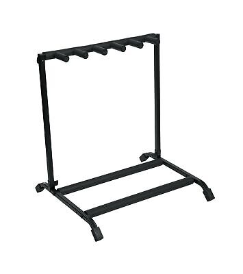 $ CDN67.78 • Buy Rok-It Multi Guitar Stand Rack With Folding Design; Holds Up To 5 Electric Or...