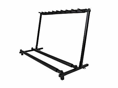 $ CDN62.57 • Buy TMS Guitar Stand 9 Holder Guitar Folding Stand Rack Band Stage Bass Acoustic ...