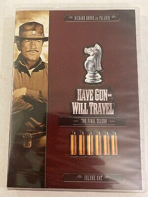 $14.25 • Buy Have Gun, Will Travel: The Sixth And Final Season, Vol. 1 New Dvd