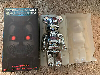 $335 • Buy Authentic Medicom 400% Bearbrick BE@RBRICK Terminator Salvation T-Rip