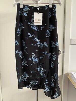 AU75 • Buy Viktoria And Woods Floral Silk Skirt Size 0