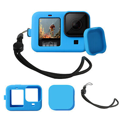 AU15.33 • Buy Protective Silicone Case For GoPro Hero 9 Black Action Camera Accessories Set