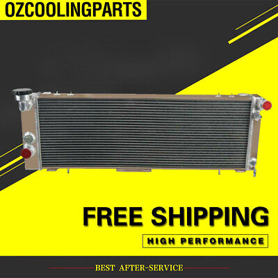 AU249 • Buy 4 Row Radiator For JEEP CHEROKEE XJ 4.0L TRANS COOLER DRIVER SIDE 1994-2001 97