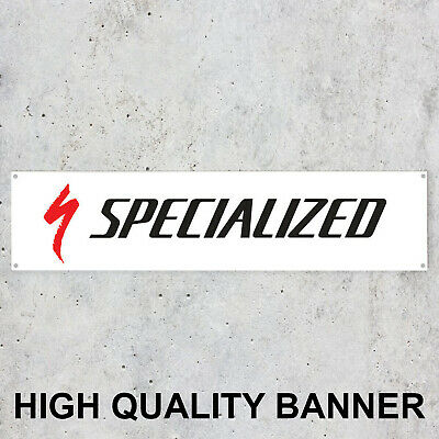 $ CDN16.45 • Buy Specialized Workshop High Quality Banner Display Vinyl Sign Bikes Bicycles