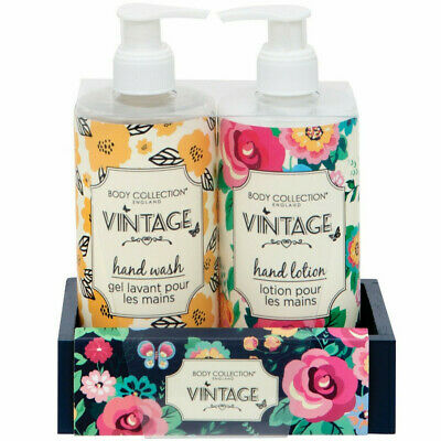 Body Collection Vintage Hand Care Duo Christmas Gift Set • 7.95£