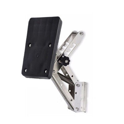 AU103.70 • Buy Outboard Bracket - Stainless Steel -auxiliary Motor Upto 20hp Or 55kgs Brand New