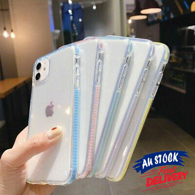 AU4.99 • Buy Bumper Case Clear Cover Soft For IPhone 12 11 PRO MAX Shockproof Slim Skin CAS#