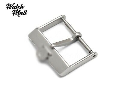 Fits OMEGA Buckle Clasp For Watch Leather Vintage Strap Band Silver  • 14.99£