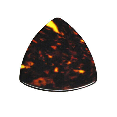$ CDN15.53 • Buy 100pcs 0.71mm 346 Rounded Triangle Guitar Picks Plectrums Celluloid Brown