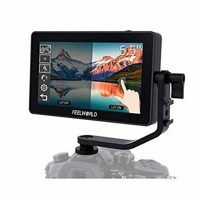 AU456.26 • Buy Feelworld F6 Plus DSLR On Camera Field Monitor 5.5 Inch Touch Screen 3D Lut Smal