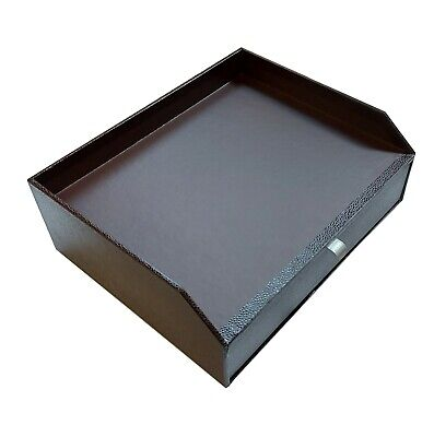 Table Top Drawer Storage Organizer Post  Stationery A4 Paper Box Holder • 4.99£