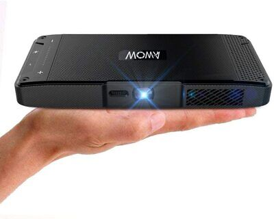 Mini Portable DLP Projector Compatible With IPhone - AWOW S2 • 132.38£