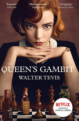 The Queens Gambit: By Walter Tevis Now A Major Netflix Drama NEW Paperback Book • 5.85£