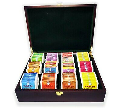 Tea Bag Luxury Gift Box 12 Compartment  170 Tea Bags (120in 10flav+50unflav) • 24.99£