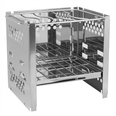 £24.72 • Buy BBQ Oven Rack Mini Foldable Stainless Steel BBQ Stand