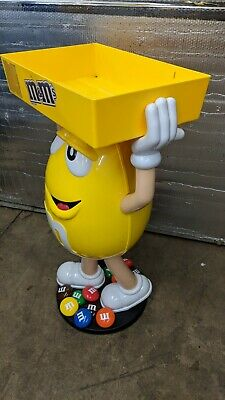 $199 • Buy M&M YELLOW CHARACTER CANDY STORE DISPLAY STORAGE TRAY 21923-SHOW-YS Merchandiser