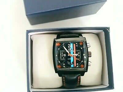 New Sports Watch Motorsport Steve McQueen Le Mans 24 Hours Retro Racing Look • 77£