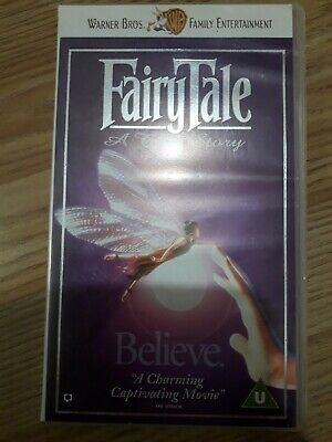 Fairytale: A True Story VHS Video Tape • 4£