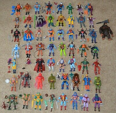 $4295 • Buy MOTUC, Figures Lot, Masters Of The Universe Classics, He-Man Set, Parts, Weapons