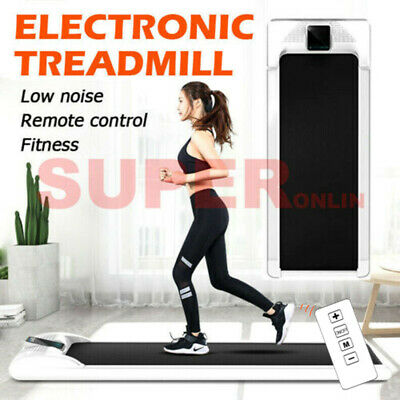 AU290.99 • Buy Electric Walking Pad Treadmill LCD Display Exercise Machine Remote Control Home