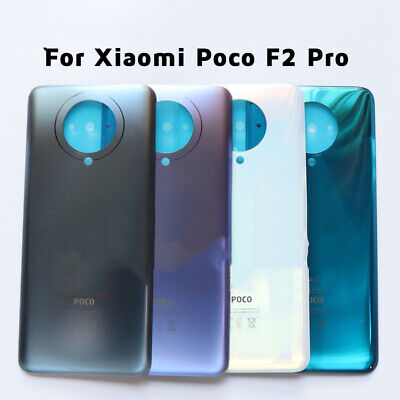 AU17.98 • Buy For Xiaomi Poco F2 Pro Back Battery Glass Cover Rear Housing Door Case Parts