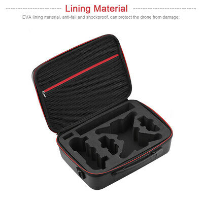 AU29.59 • Buy Waterproof Drone Accessories Storage Bag PU Leather Carrying For DJI Spark
