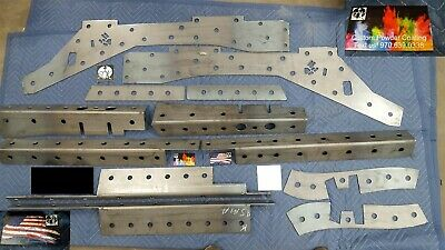 $475 • Buy 84-01 Fits JEEP CHEROKEE XJ Frame Stiffeners 1/8 Inch FULL SET FREE SHIPPING