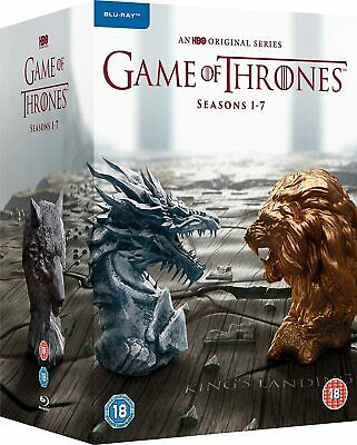 Game Of Thrones Complete Seasons 1-7 [Blu-ray] [2011] [2017] New Sealed • 44.99£