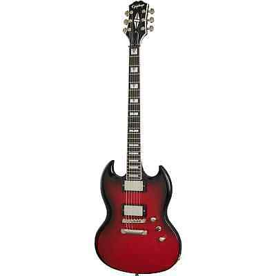 AU1579 • Buy Epiphone SG Prophecy Electric Guitar, Red Tiger Aged Gloss