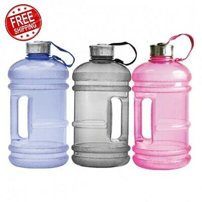 AU21.94 • Buy Original Reusable Safe BPA Free Drinking Water Bottle 2l For Gym Fitness/sports