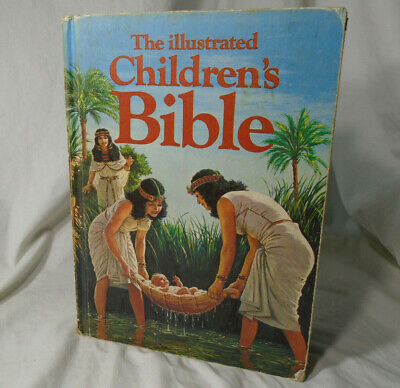 £4.93 • Buy THE ILLUSTRATED CHILDRENS BIBLE * 1978 Hardcover Book * Vintage