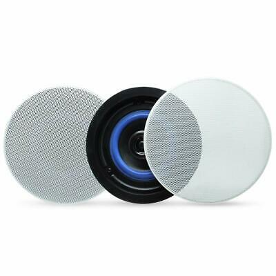 A Pair Of 160Watts 2Way Bluetooth Flush Mount Ceiling Speakers For Home Bathroom • 56.99£