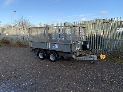 Ifor Williams Tipping Trailer With Cage 10ft *HIRE* • 45£