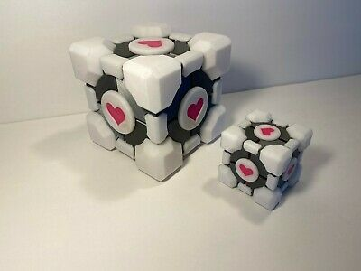 £14.62 • Buy Companion Cube - Full Color - Cosplay - Roleplaying - Portal - Portal 2 - Prop