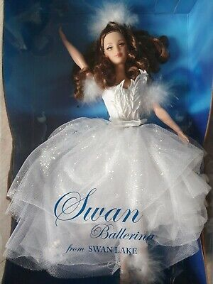 Barbie Poupée Collection SWAN Ballerina From Swan Lake Doll NRFB  • 76.69£
