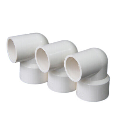 £2.05 • Buy PVC 20mm-110mm ID Water Supply Pipe Reducer Elbow Fittings Adapter Connector