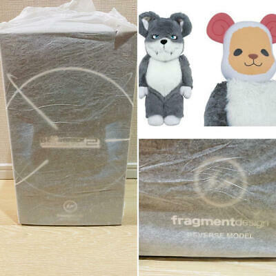 $1899 • Buy Medicom Be@rbrick Fragment Design 400% BWWT HF Wolf Reverse Model Bearbrick