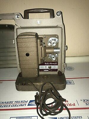 $ CDN143.05 • Buy Vintage Bell & Howell 8mm Film Projector Model 253-A 500 Watts Lamp Made In USA