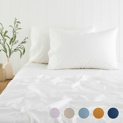 AU45 • Buy New Habitat 300TC Cotton Fitted Sheet