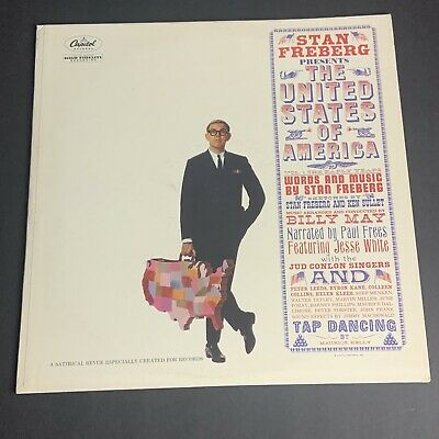 Stan Freberg: The United States Of America LP On CAPITOL W-1573 Vinyl VG+ • 5.70£
