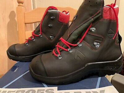 Haix Protector Pro Light Chainsaw Boots Size UK 11 EU 46 - 602501 • 150£
