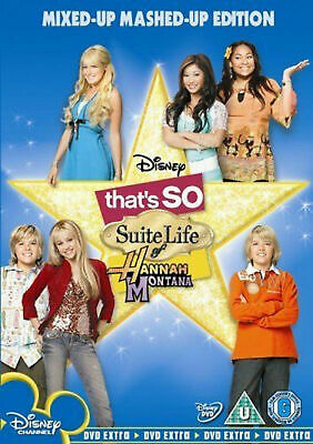 THAT'S SO SUITE LIFE OF HANNAH MONTANA DVD Miley Cyrus Raven UK R2. NEW SEALED • 9.99£