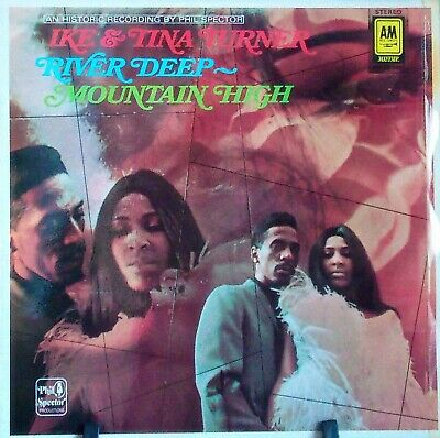 IKE AND TINA TURNER - River Deep, Mountain High - LP - Disc: VG - Phil Spector • 3.99£
