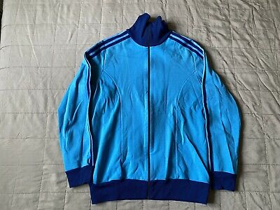 Adidas Vintage Track Top Sz M 70's Schwan Eurzeugnis Made In West Germany Era • 111.58£